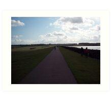 Path to sky  Art Print