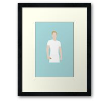 Vector Peeta Framed Print