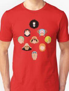 Straw Hats Unisex T-Shirt