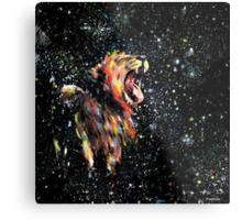 the lion sleeps no more Metal Print