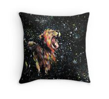 the lion sleeps no more Throw Pillow