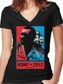 Kony 2012 Women's Fitted V-Neck T-Shirt