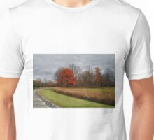 Muted Autumn trees Unisex T-Shirt