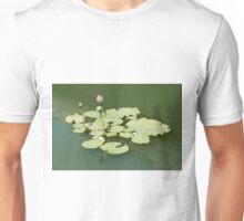 Lotus in the water Unisex T-Shirt