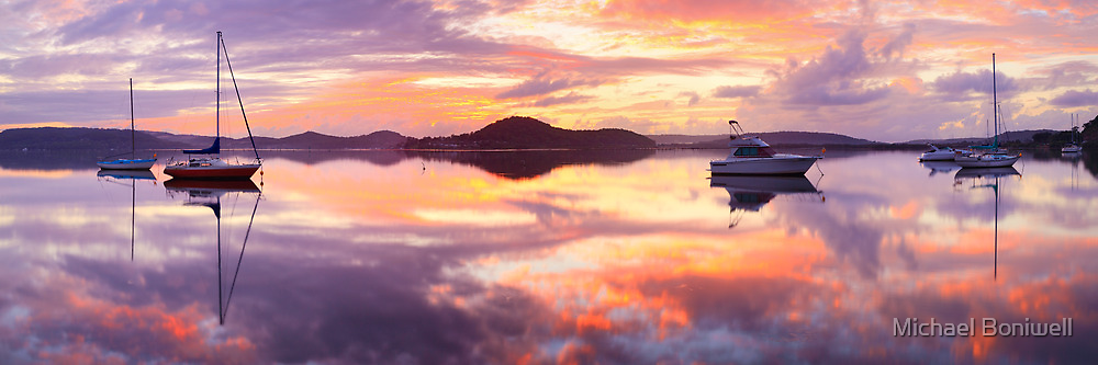 Serenity, Koolewong, New South Wales, Australia by Michael Boniwell