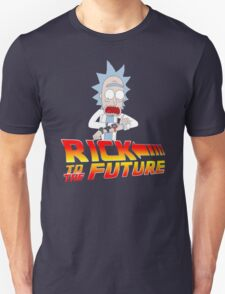 Back to the Future Rick and Morty Unisex T-Shirt