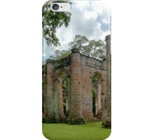 Old Sheldon Church Ruins Image 1 iPhone Case/Skin