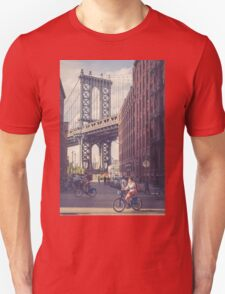 Bike Ride in Dumbo T-Shirt
