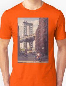 Bike Ride in Dumbo T-Shirt