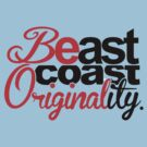 'Be'ast Coast 'Original'ity - Light Shirts by RichieRiich