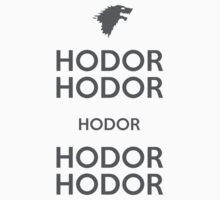 Keep Calm and Hodor T-Shirt