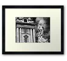 Titanic Series No9. Titanic Memorial Framed Print