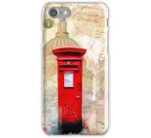 Classic British Red Pillar Box - Postbox iPhone Case/Skin