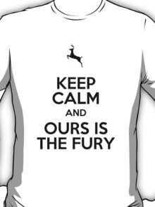 Keep Calm and Ours is the Fury T-Shirt