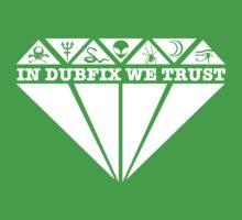 Dubfixx Diamond White Kids Tee