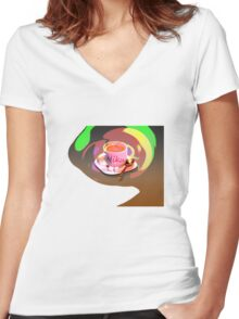 T-shirt coffee Women's Fitted V-Neck T-Shirt