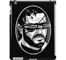 God Save The Boss iPad Case/Skin