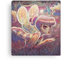 Sunset Fairy Canvas Print
