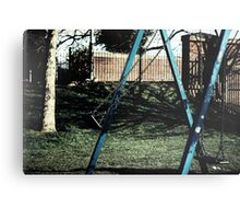 Swinging Out Canvas Print