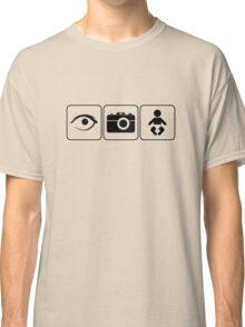 I Photograph Babies Classic T-Shirt