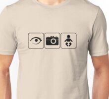 I Photograph Babies Unisex T-Shirt