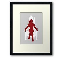 Vector Katniss Framed Print