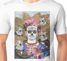 Frida De Los Muertos Unisex T-Shirt