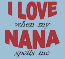 I Love When My Nana Spoils Me One Piece - Short Sleeve