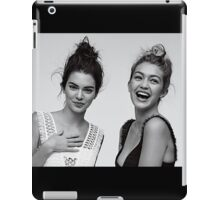 Kendall Jenner and Gigi Hadid #adorable  iPad Case/Skin