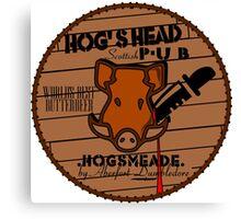 Hog's Head Pub, by Aberfort Canvas Print