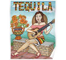 Tequila senorita Poster