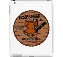 Hog's Head Pub, by Aberfort iPad Case/Skin