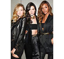 #modelonduty Kendall Jenner, Gigi Hadid, Jourdan Dunn Photographic Print