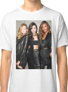 #modelonduty Kendall Jenner, Gigi Hadid, Jourdan Dunn Classic T-Shirt
