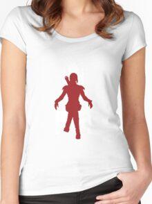Vector Katniss Women's Fitted Scoop T-Shirt
