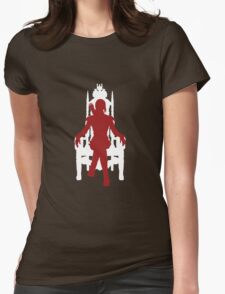 Vector Katniss Womens Fitted T-Shirt