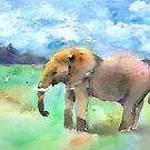Elephant by arline wagner