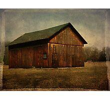 Cedar barn Photographic Print