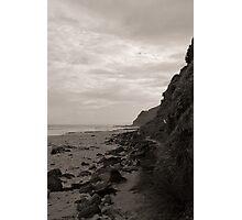 Garie Beach Monochrome Photographic Print