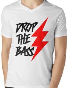 Drop The Bass Mens V-Neck T-Shirt