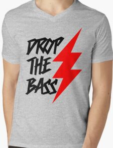 Drop The Bass Mens V-Neck T-Shirt