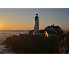 Portland Lighthouse Photographic Print