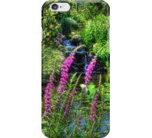 Tea Garden Pond iPhone Case/Skin