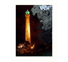 Wainhouse Tower Halifax Yorkshire Art Print
