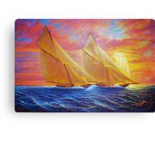 Magnificent Sea Sunset Canvas Print