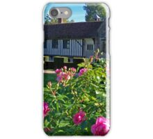 A Charming Manor House iPhone Case/Skin