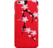 I Enjoy a Bohemian Chilean Background of Blossums iPhone Case/Skin