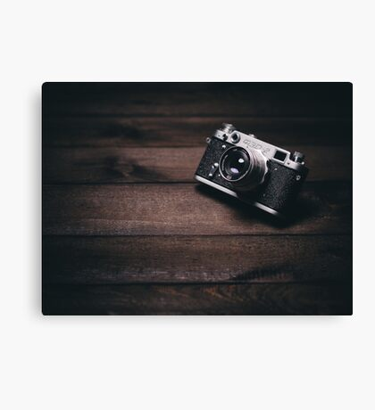 Old Camera Canvas Print