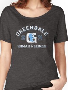 Greendale Human Beings T-Shirt Women's Relaxed Fit T-Shirt