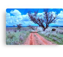 Country Roads - Cootamundra, NSW -The HDR Experience Canvas Print